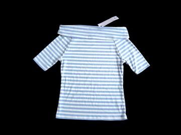 新品 定価990円 GU ジーユー  オフショルダー Tシャツ