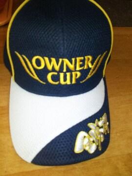 ★新品 オーナーカップ OWNER CUP2016y 金勝杯 帽子 キャップ★