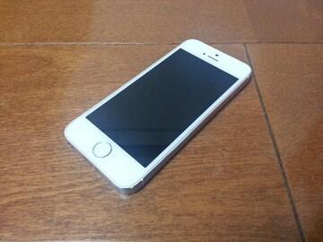 特価品!!即落/即発!!au 超美品 iPhone 5s 16GB シルバー