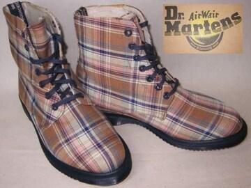 ドクターマーチン 7ホール キャンバス ブーツ14351250BG uk5