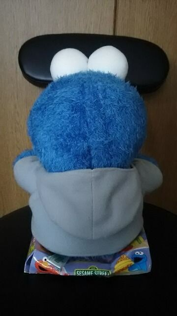 セサミストリート クッキーモンスター BIG ごきげんパタパタ ぬいぐるみ < おもちゃの
