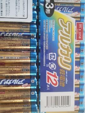 アルカリ乾電池(単3電池) 12本入 製造販売元:兼松��