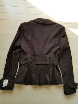 ◆ZARA◆太ベルト付ジャケットコート◆