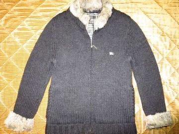 ラビットニットジャケット