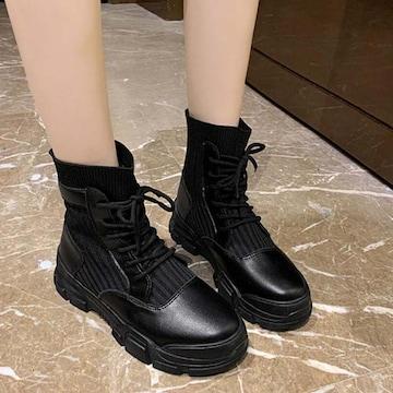 Y194即決 新品 ブーツ 黒 24cm エスペランサ R&E ピンキー ダイアナ 好きに