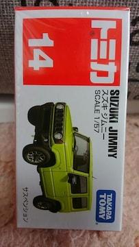 トミカ 14 スズキ ジムニー 初回箱 未開封 新品