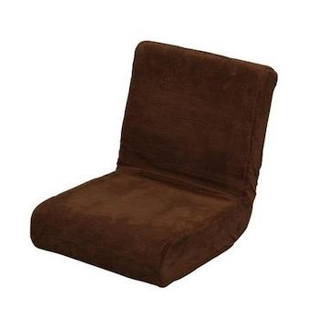 【送料無料】座椅子 ブラウン おしゃれ 便利