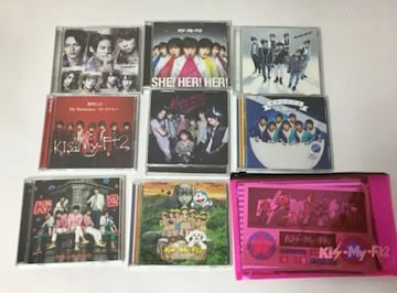 Kis-My-Ft2 DVD CD 9点セットまとめ売り/管理番号KM-M�A