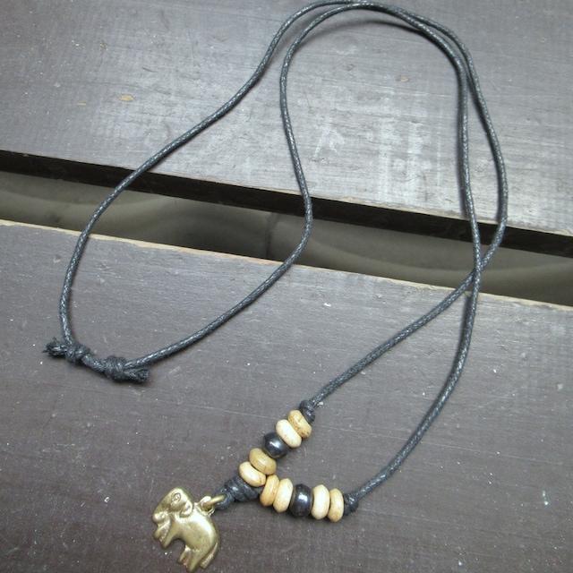 真鍮トップネックレス*ぞう2 < 男性アクセサリー/時計の