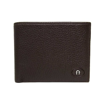 アイグナー折財布 152796-014 レザーレディース