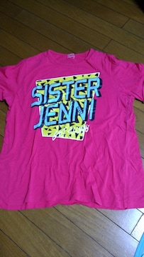 JN-ロゴビックTシャツ160ピンク
