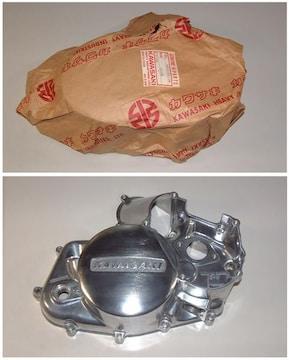 カワサキ KH125初期 KS125 KE125 右エンジンカバー 絶版