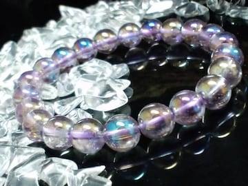 フラッシュアメジスト8ミリ紫水晶数珠