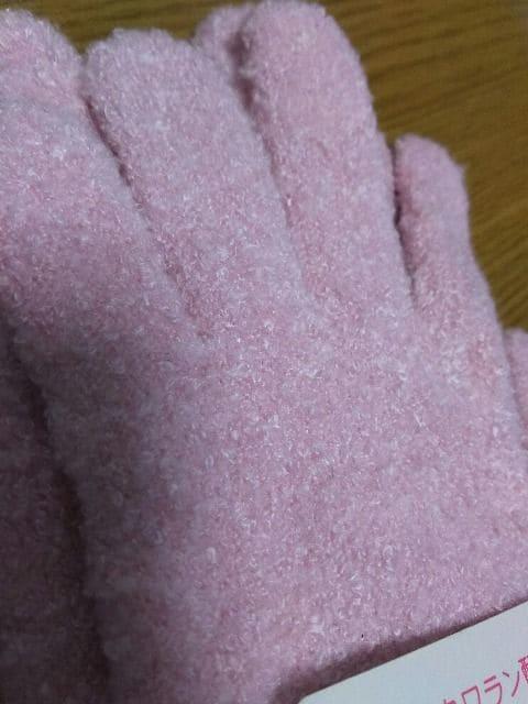 新品タグ付き/ふわふわ手袋 < 女性ファッションの