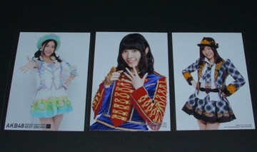 AKB48 通常盤CD封入写真+DVD特典 3枚セット 松井珠理奈