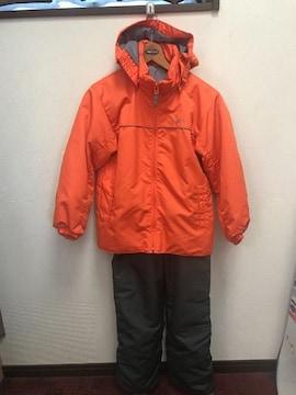 70  イグニオ オレンジ 140 スノーウエアー