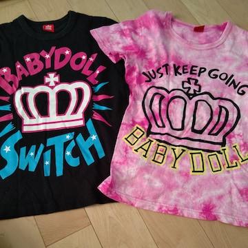 ベビードール BABYDOLL Tシャツ 140 5枚セット