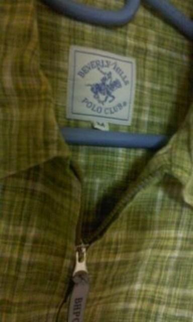 ★ビバリーヒルズ ポロクラブ ジャケット サイズM 薄手 サラサラ 着用 楽● < 男性ファッションの