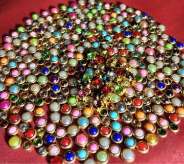 新品大量ジェルネイル半球パールダイヤモンドストーンデコパーツ