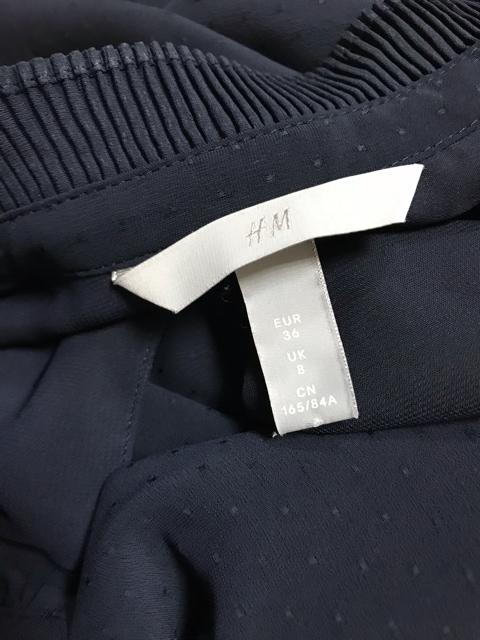 H&M ボウタイリボン カットソー < ブランドの