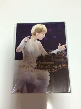 浜崎あゆみ/~POWER of MUSIC~2011 A LIMITED EDITION メモパッド