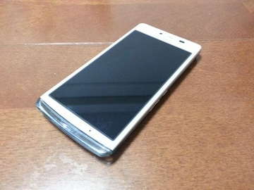 即落/即発!!美中古品 SH-04E AQUOS PHONE EX ホワイト