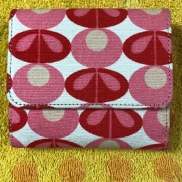 オーラカイリー(Orla Kiely)コットン折財布お花柄P