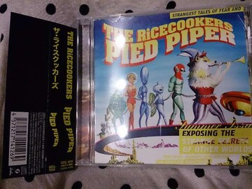 THE RiCECOOKERS「PIED PIPER」帯付/ライスクッカーズ