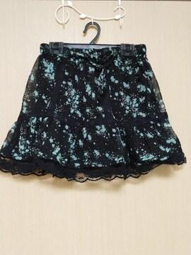 H&M★未使用 ふんわり花柄スカート