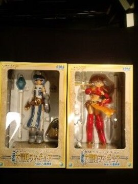 EX大冒険フィギュア全2種レイ・アスカ