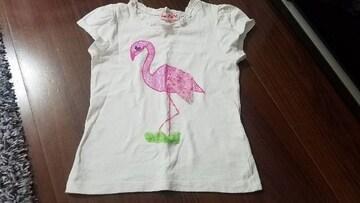 ★フラミンゴTシャツ★サイズ5★