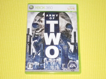 xbox360★アーミー オブ ツー ARMY OF TWO