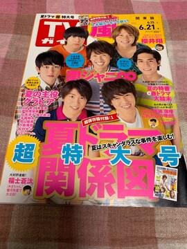 ★1冊/TVガイド 2013.6.15〜 関東版