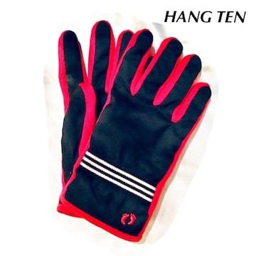 *HANG TEN*ユニセックス*配色手袋*22センチ*アウトドア