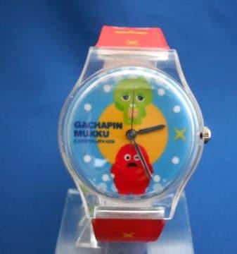 ガチャピンとムックの腕時計6-ポンキッキリストウォッチ