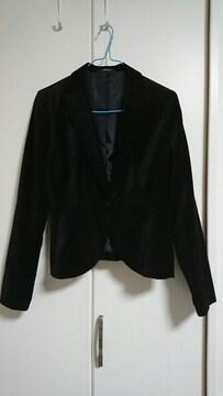 COMME CA ISM 黒のジャケット☆9号☆一つボタン☆激安☆