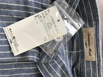 新品タグ付☆SM2綿Puシャーリングレギュラーシャツ