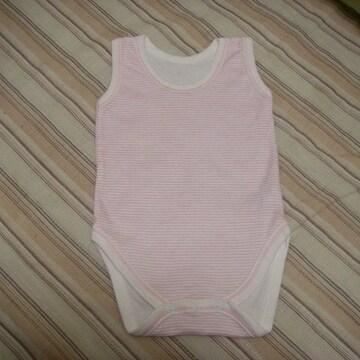 3~6M mothercare ロンパース 60cmくらい 薄ピンク