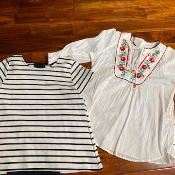 カットソー Tシャツ 2枚セット