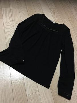 B617/axesfemme/ブラック/カットソー/