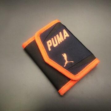 即決 PUMA プーマ 三つ折り財布