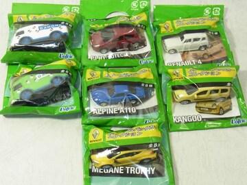 N『ルノー』プルバックカーコレクション7種セミコンプセット