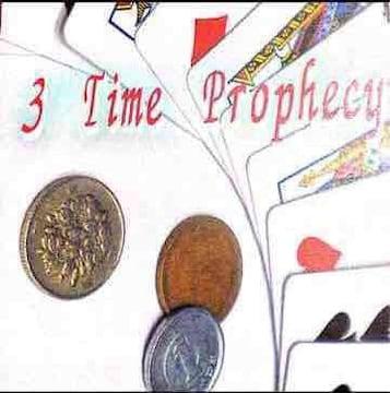3time prophecy即興メンタルカードマジック!手品