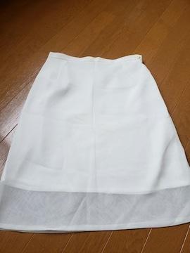 ☆新品同様☆ホワイト スカート☆w67