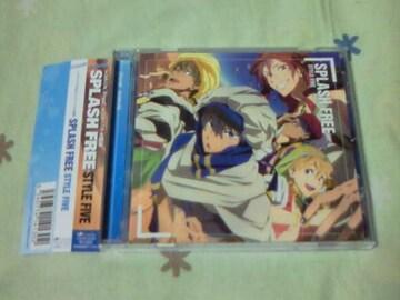 CD TVアニメ Free! エンディング SPLASH FREE STYLE FIVE