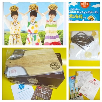剛力 彩芽★カルビー大収穫祭【2012】エプロンチョ(じゃがいも柄)新品 等