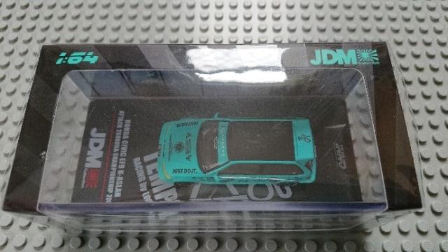 [INNO]1/64 Honda シビック EF9 K-ASLAN アタック筑波 チャンピオンシップ 2018
