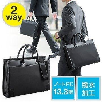 ビジネスバッグ メンズ レディース2WAY EZ2-BAG110BK-k/E