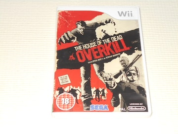Wii★THE HOUSE OF THE DEAD OVERKILL 海外版