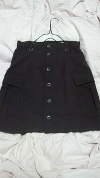 小豆カラー /ミニスカート/ ウエスト63/ 難有り